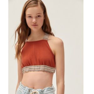 NWT Urban Outfitters rust colored top size small